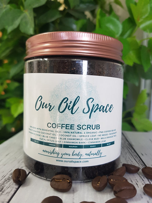 Organic Coffee Scrub