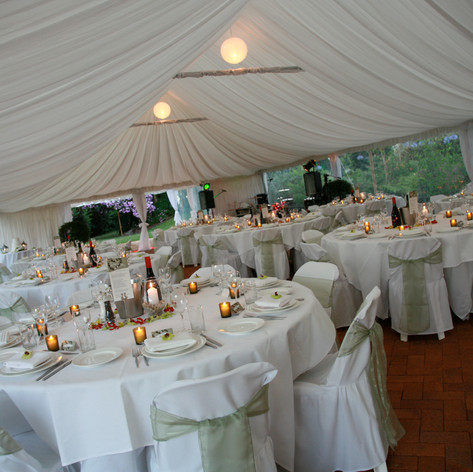 Our Beautiful Banquet Marquee