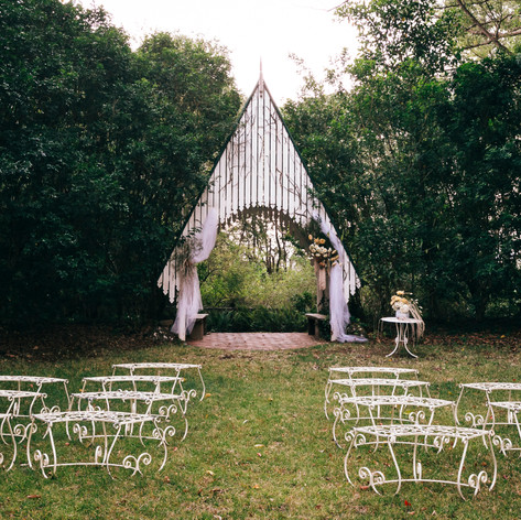 Our Gorgeous Outdoor Chapel