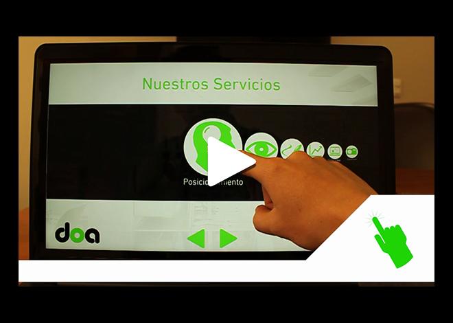 Presentaciones Touchscreen