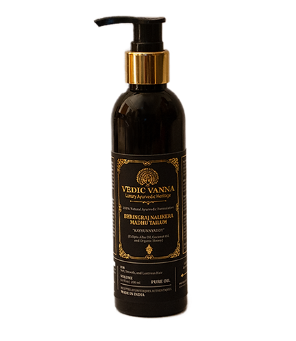 Ayurvedic Formulated Bhringraj Nalikera Madhu Hair Oil