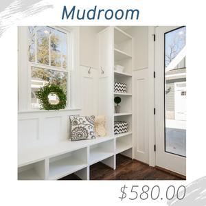 Mudroom Living Room Joshua Allen Design Interior Design e-design virtual design