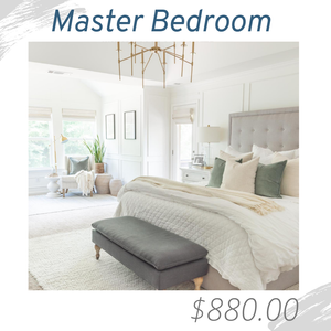 Master Bedroom Living Room Joshua Allen Design Interior Design e-design virtual design