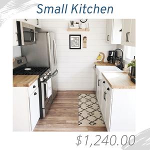 Small Kitchen Living Room Joshua Allen Design Interior Design e-design virtual design