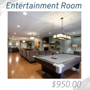 Entertainment Room Living Room Joshua Allen Design Interior Design e-design virtual design