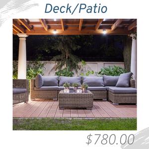 DeckPatio Living Room Joshua Allen Design Interior Design e-design virtual design