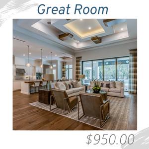 Great Room Living Room Joshua Allen Design Interior Design e-design virtual design