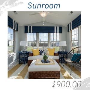 Sunroom Living Room Joshua Allen Design Interior Design e-design virtual design