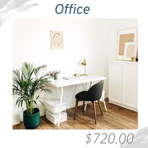 Office Living Room Joshua Allen Design Interior Design e-design virtual design