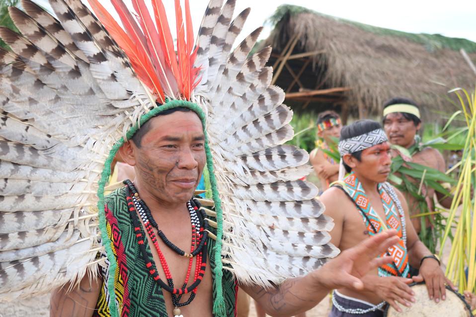 Cacique do povo Huni Kuin