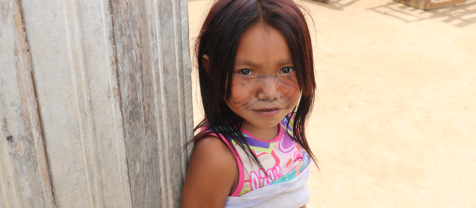 With the Huni Kuin people in the Brazilian Amazon rainforest