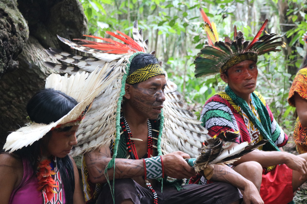 Prayer Ceremony at the Samaúma Tree
