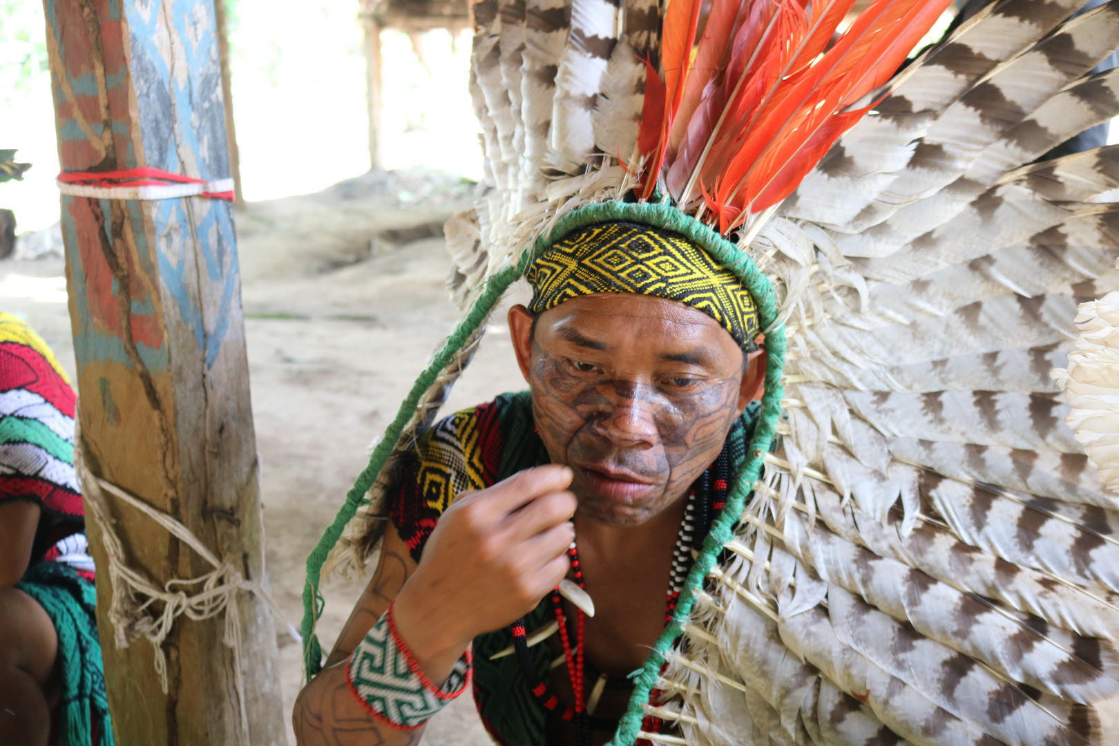 Cacique of the indigenous people Huni Kuin