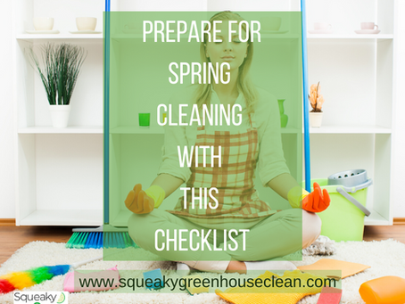 Prepare For Spring Cleaning With This Checklist