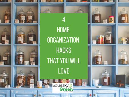 4 Home Organization Hacks That You'll Love