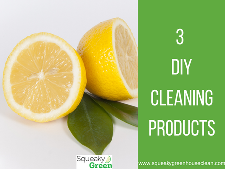 3 DIY Cleaning Products