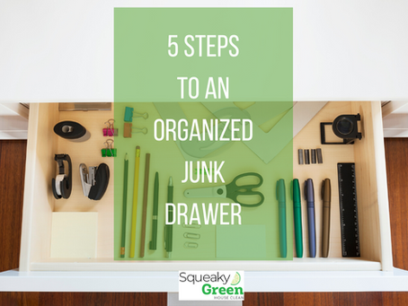 5 Steps to an Organized Junk Drawer