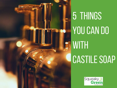 5 Things You Can Do With Castile Soap