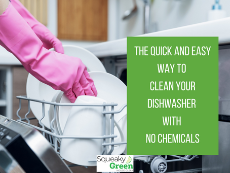 The Quick and Easy Way to Clean Your Dishwasher With No Chemicals