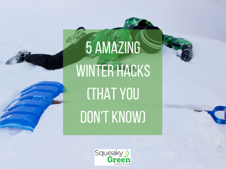 5 Amazing Winter Hacks (that you don't know)