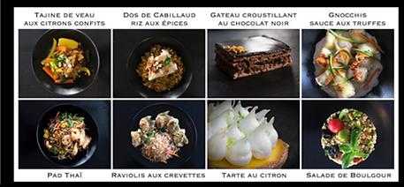 Les produits sont présentés au rythme de leur vraie nature. Michel défend la cuisinefaçon «world».