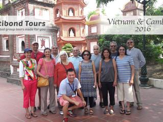 Vietnam & Cambodia Group Tour 09th Oct 2016