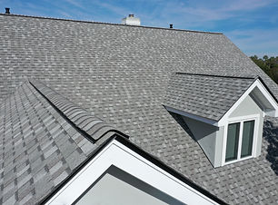 Aerial view of roof work done on a home..jpg