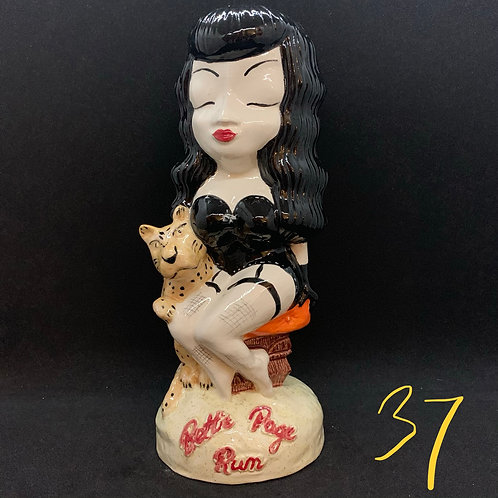 Bettie Page Rum Tiki Mug #37