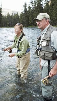 Pêche aux saumons