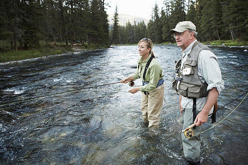Guided Fly Fishing Clark Fork River (Half Day)