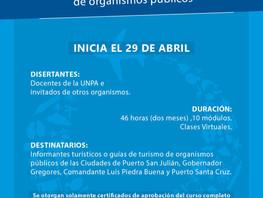 Curso de Actualización para Informantes Turísticos y Guías de Turismo de Organismos Públicos
