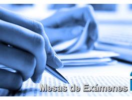 Mesas de exámenes - Turno Especial abril 2021