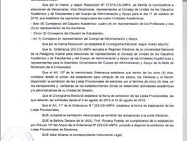 Listado Provisional Electores - Disposición 339-DU-UASJ/2019