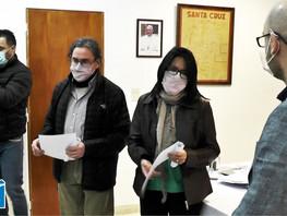Reconocimiento del Honorable Concejo Deliberante de Puerto San Julián a trabajadores del CONICET