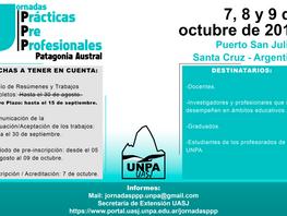 Jornadas PPP - Nuevo Plazo para presentación de trabajos