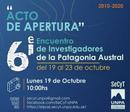 CRONOGRAMA 6° Encuentro de Investigadores de la Patagonia Austral