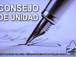 Consejo de Unidad - Unidad Académica San Julián - jueves 23 de septiembre 2021