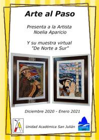 Arte al Paso presenta a la Artista Noelia Aparicio