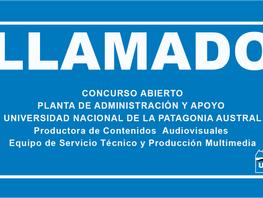 Convocatoria a Concurso Abierto - Planta de Administración y Apoyo Universidad Nacional de la Patago