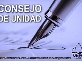 CONSEJO DE UNIDAD - UNIDAD ACADÉMICA SAN JULIÁN