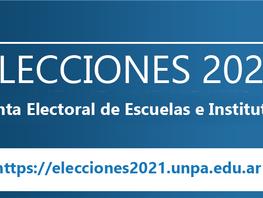 Junta Electoral de Escuelas e Institutos-UASJ/UNPA-Publicación de los Padrones Definitivos aprobados