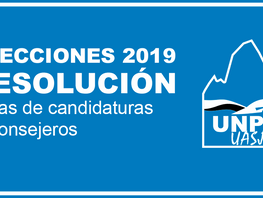 Elecciones 2019 - Resoluciones Listas de candidaturas a Consejeros