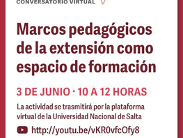 Conversatorio organizado por la Comisión de Curricularización de la REXUNI del CIN