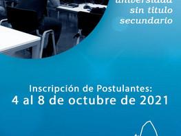 Artículo 7°: Nueva instancia de ingreso a la UNPA para personas sin estudios secundarios completos