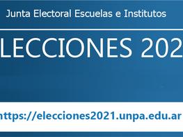 Elecciones 2021 UASJ/UNPA - Oficialización de las listas