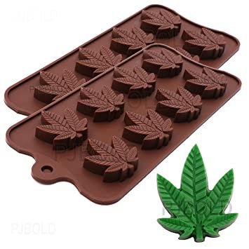 Silicone Cannabis Leaf Mold