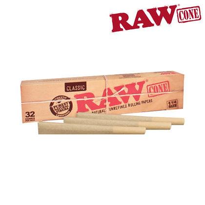 Raw 1 1/4 Cones 32pk