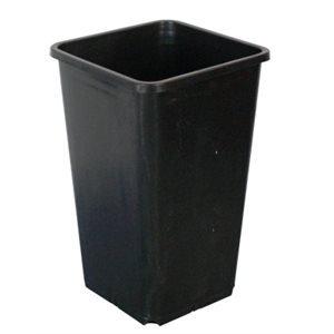 1.8L Square Black Pot