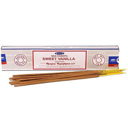 Sweet Vanilla Satya Incense