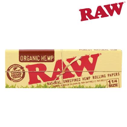 Raw Organic Hemp 1 1/4 papers
